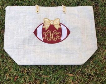Florida State Football Jute Bag