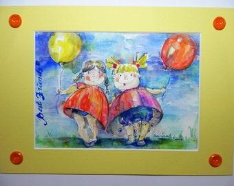 Painting, illustration