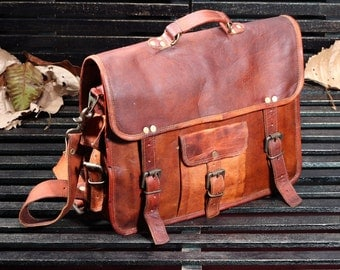 Leather Messenger Bag, Fair Trade, Sustainable, Affordable, Men's Gift, Women's Gift, Handmade, Sling Bag, Shoulder Bag, Men Leather Bag