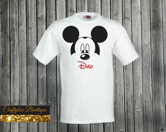 Dad Disney Mickey Shirt