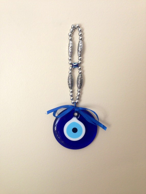 Evil Eye Decoration Wall Hanging : Evil eye wall hanging beads nazar by