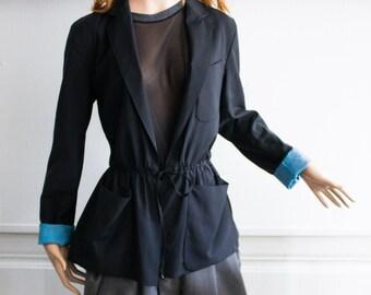 Jean Paul Gaultier, Tie wool blazer