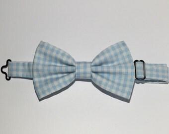 Plaid Bow Tie w/ Adjustable Strap