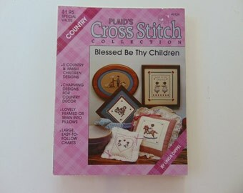 Blessed Be They Children by Plaid's Cross Stitch Collection