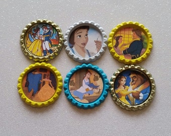 Belle ID Badge, Disney ID Badge, Badge Holder, ID Badge, Disney Belle, Belle, Disney Belle Badge, Beauty & the Beast, Disney Princess Badge