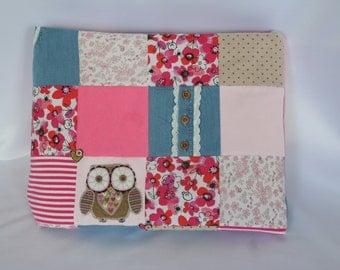 Handmade keepsake baby blanket