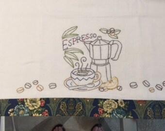 Espresso Tea Towel