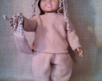 Cowardly Lion from the Wizard of Oz Costume for American Girl Doll.   A01D
