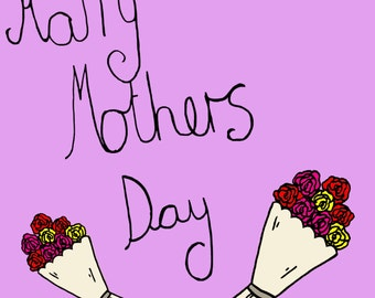 Happy Mothers Day card!!