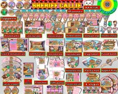 Sheriff Callie Birthday Package - Editable Sheriff Callie Birthday Party Set Printable, Kit, Invitation, Banner, Decorations - Digital File