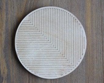 Geometric Patterned Coaster