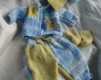 Baby knitting pattern pdf