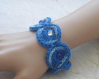 Bracelet - bracelets - crochet bracelet - crocheted jewelry - bracelet - jewelry - handcrafted - jewelry