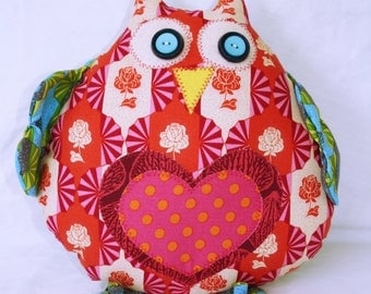 Soft toy owl