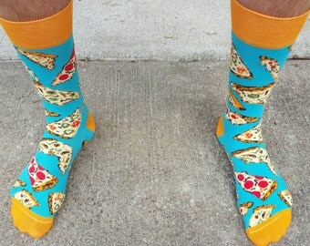 Pizza Dress Socks
