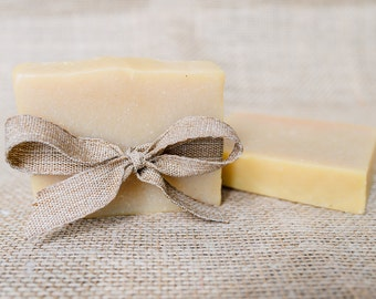 Citrus Bar with Jojoba Oil Handmade natural soap 3.5-4.5 oz.