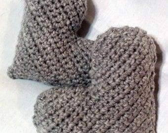 Crochet Heart Pillow,  Crochet Mini Heart, Stuffed Crochet Heart, Valentine's day, Heart Amigurumi, Heart Home Decor, Mother's day Plush