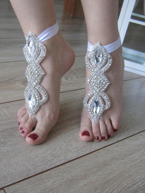 barefoot wedding shoes - photo #25
