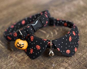Halloween pet collar for cat ,tiny dog collar, small dog