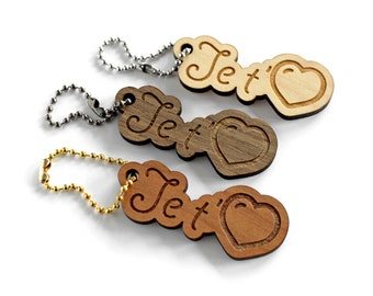 Romantic accessory, wooden love you, put it where you want, customizable