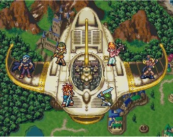 Chrono Trigger Cross Stitch Pattern