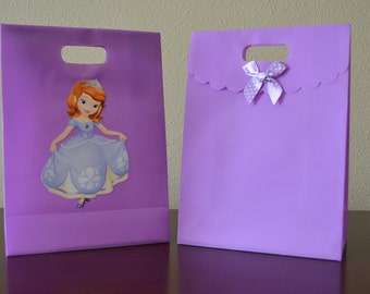 Princess Sofia goodie bag, goody bag, Set of 8