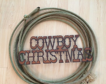 Christmas Western Wreath