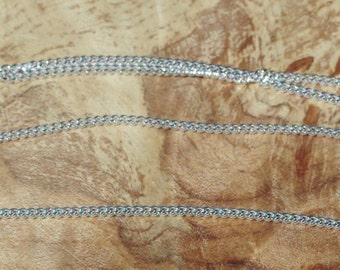 Upgrade to Canadian Made Sterling Silver Chain.  To Accompany a Pendant Necklace Purchase Only.