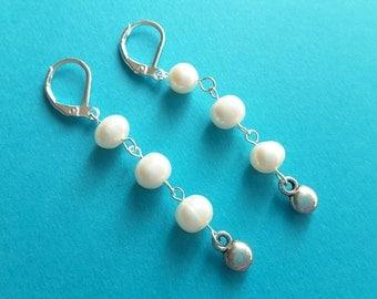 Freshwater Pearl Trickle Earrings
