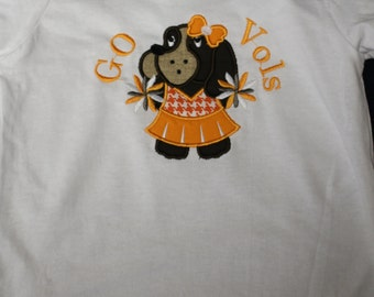 Little Girls Go Vols t-shirt