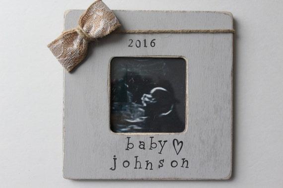 Ultrasound Picture Frame Gender Reveal Pregnancy