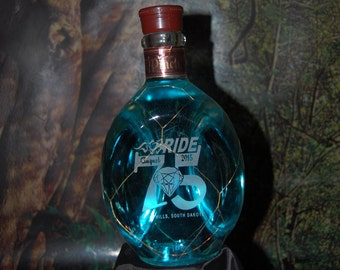 Sturgis 75th Rally Engraved Bottles