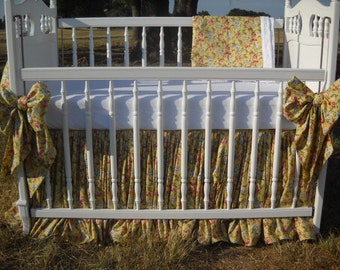 Country Charm Baby Crib Bedding by Dance With Joy Baby Bedding