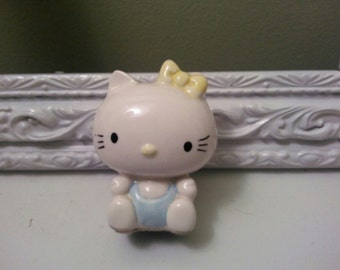 Hello Kitty, Vintage Hello Kitty, 1980's Hello kitty figurine, vintage collectible Hello Kitty, Hello Kitty collectible,