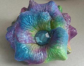 Sparkle flower clip