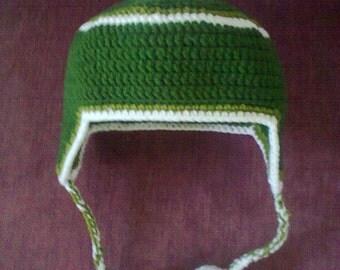 crochet earflap