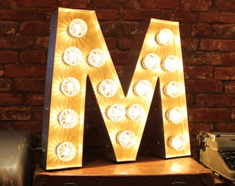 Letter Light M