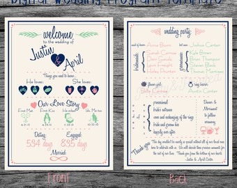 Digital Wedding Program