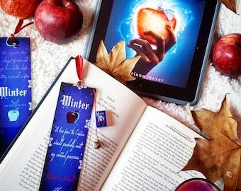 Winter bookmark - Handmade