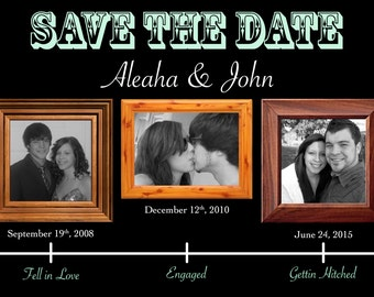 Save the Date Timeline