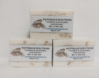 Anniversary Sale! Goats Milk and Oatmeal Soap