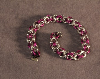 Inverted Round Chainmail Bracelet