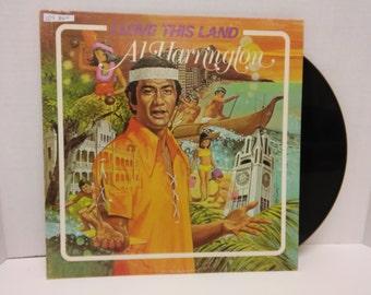 Al Harrington I Love This Land Hr1001 Vinyl records vinyls vintage collectibles vinyl record albums Hawaiian Music touch my vinyl