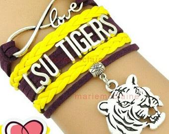 LSU bracelets