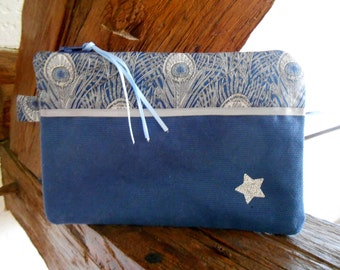 Make-up pouch with fabrics(tissues) liberty
