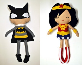 CUSTOM Fabric Super Hero Doll