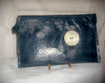 One of a kind designer handbag, purse, clutch, signed and numbered