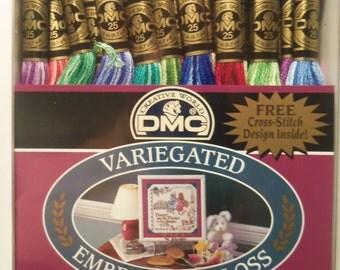 DMC Variegated Embroidery Thread 36 Skeins