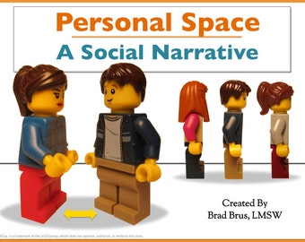 Personal Space Social Narrative - Social Story - Autism