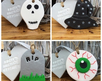 Skull decor, witch decor, halloween gift, halloween decoration, halloween decor, skull gift, eye decor, gravestone, witches hat, eyeball